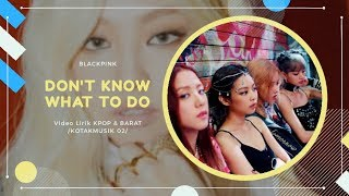 BLACKPINK - 'DON'T KNOW WHAT TO DO' Easy Lyrics (SUB INDO)