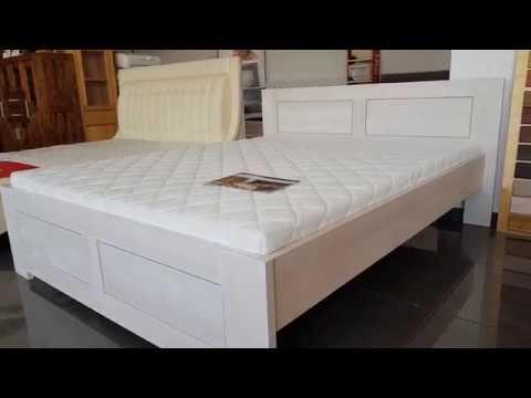 Drewniane łóżko Firmy Drewmax Lk 112