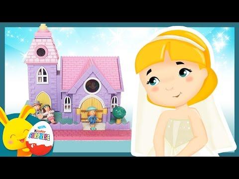 Le mariage de Polly - Jouet et histoire Polly Pocket pour les enfants - Touni Toys thumbnail