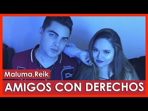 Reik, Maluma - Amigos Con Derechos Cover By Susan Prieto & Alvaro Rod