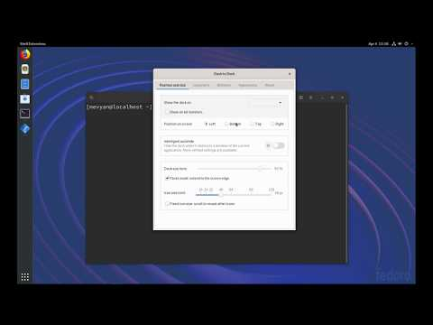 How To Customize GNOME On Fedora