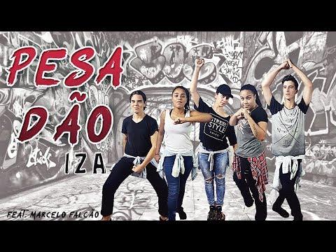 Pesadão - Iza, part.  Especial Marcelo Falcão (coreografia oficial) Gang AD Dance Vídeo