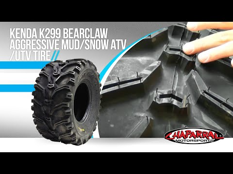 Kenda K299 Bearclaw Aggressive Mud/Snow ATV/UTV Tire...