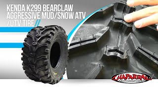 Kenda K299 Bearclaw Aggressive Mud/Snow Motorcycle Tire...