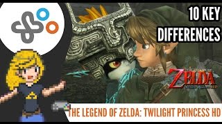 THE LEGEND OF ZELDA: TWILIGHT PRINCESS HD - What's new? 10 Key Differences