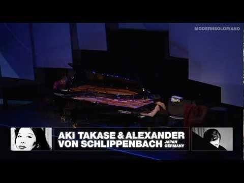 Aki Takase und Alexander von Schlippenbach Modern Solo Piano Festival Berlin 2010