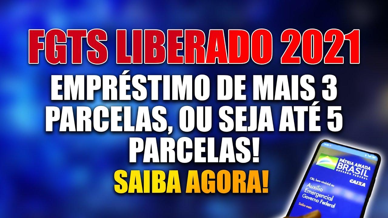 FGTS LIBERDADO SAQUE ATRAVÉS DE EMPRÉSTIMO 💵 DE ATÉ 5 parcelas | confira agora neste vídeo!!!