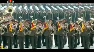 Военный парад в КНДР в честь 105-летия Ким Ир Сена