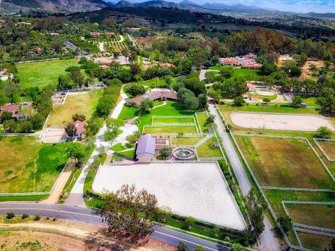 Equestrian Property 6715 Lago Lindo, Rancho Santa Fe, CA 92067
