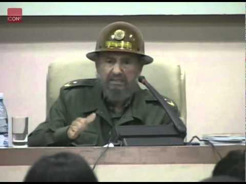 Fidel Castro meets Evo Morales