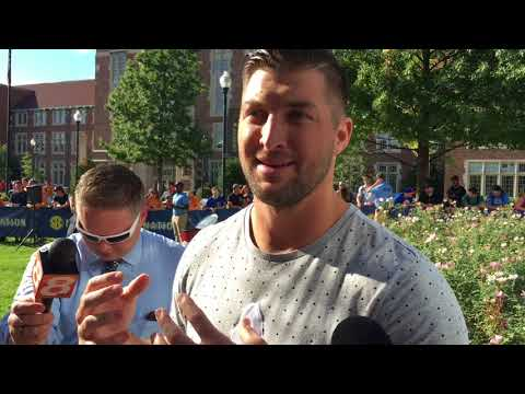 SEC Network analyst Tim Tebow previews Tennessee-Georgia game