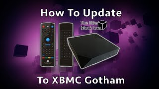 How to Update The Little Black Box To The Newest Firmware