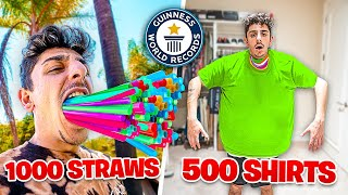 Break The MOST World Records, Win Shopping Spree!