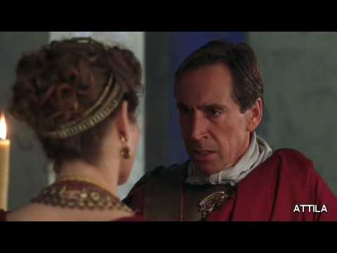 Attila clip with Powers Boothe and Alice Krige