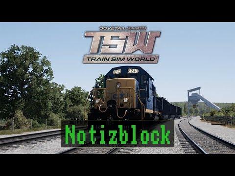 Train Sim World - CSX Heavy Haul & Great Western Express [ Notizblock ]