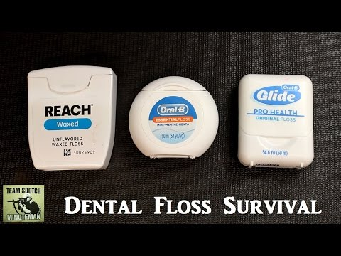 Dental Floss Survival Hacks  20 + Uses