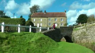ENGLAND Hutton-Le-Hole, North Yorkshire (hd-video)