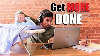 10 Tricks To DOUBLE Your Daily Productivity INSTANTLY! (Get MORE Done In A Day)