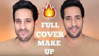 FULL FACE OF MAKE UP FOR MEN! 🔥 | Red Carpet + Verlosung! | Sami Slimani