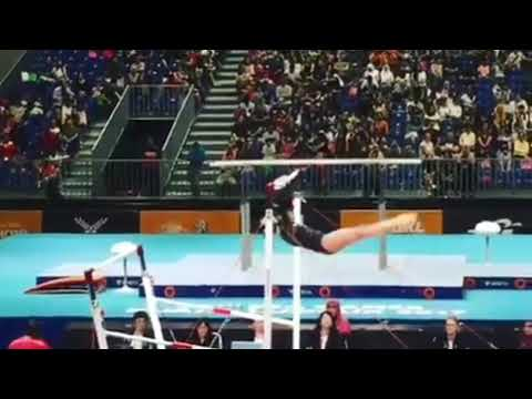 29th SEA Games 2017: Philippines GOLD Uneven bars Artistic Gymnastics - Kaitlin de Guzman