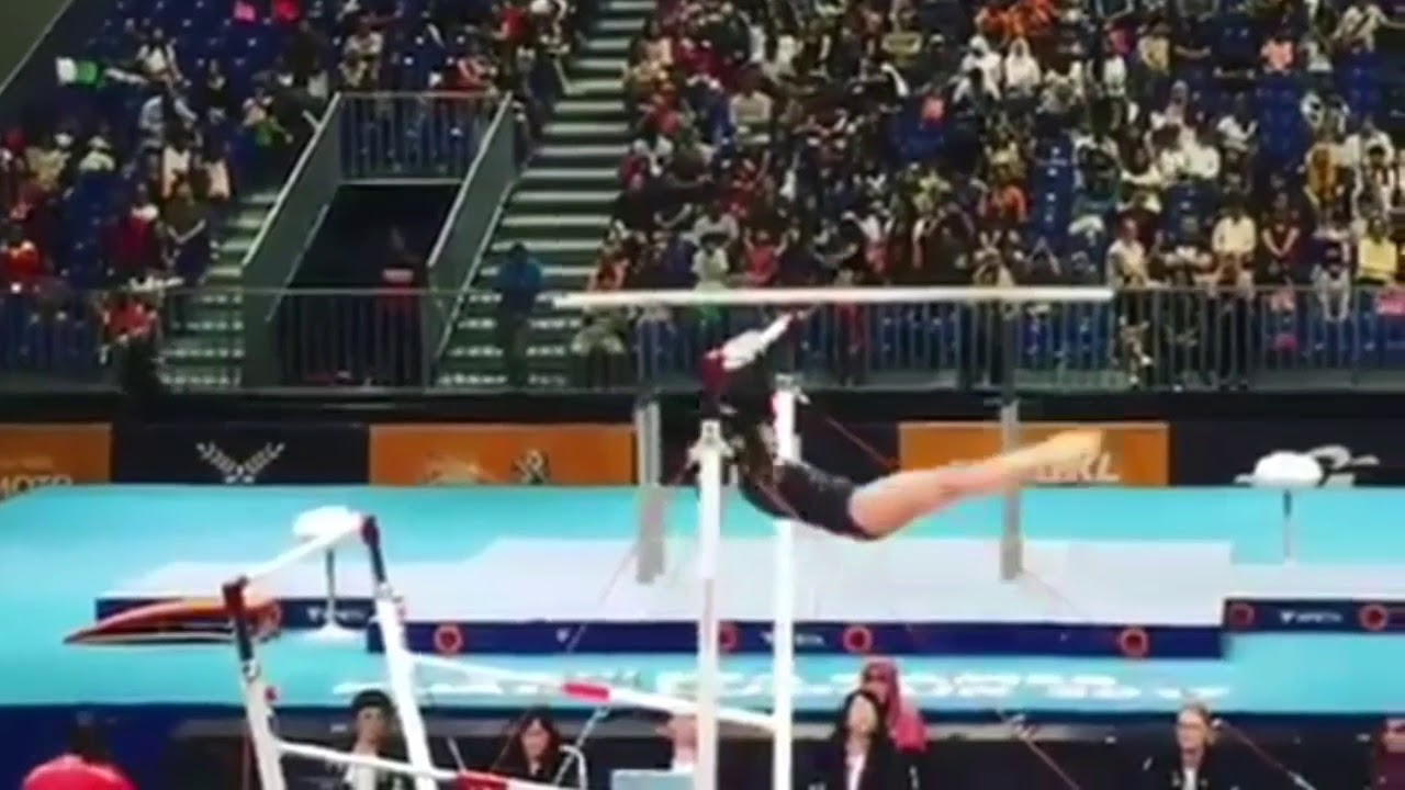 29th SEA Games 2017: Philippines GOLD Uneven bars Artistic ...