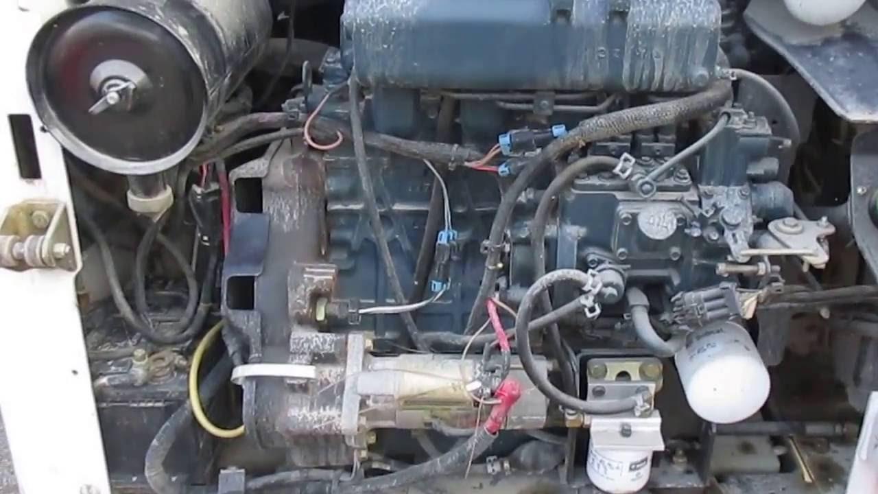 78-16 BOBCAT S160 TURBO HIGH FLOW MOTEUR
