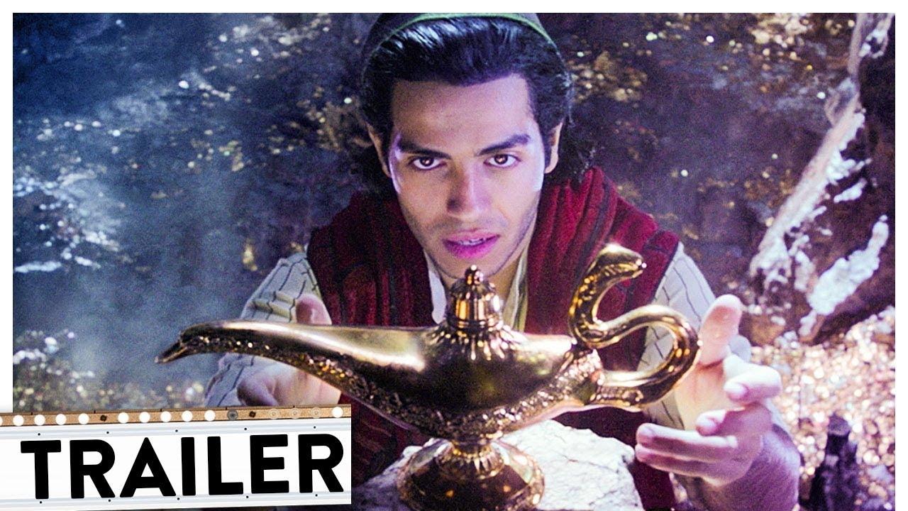 ALADDIN Teaser Trailer Deutsch German (HD) | Disney 2019