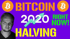 THE BITCOIN HALVING!!!   PREPARING FOR THE FUTURE OF FINANCE