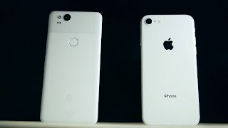 Pixel 2 VS. iPhone 8 Comparison- Which Phone Should You Buy?