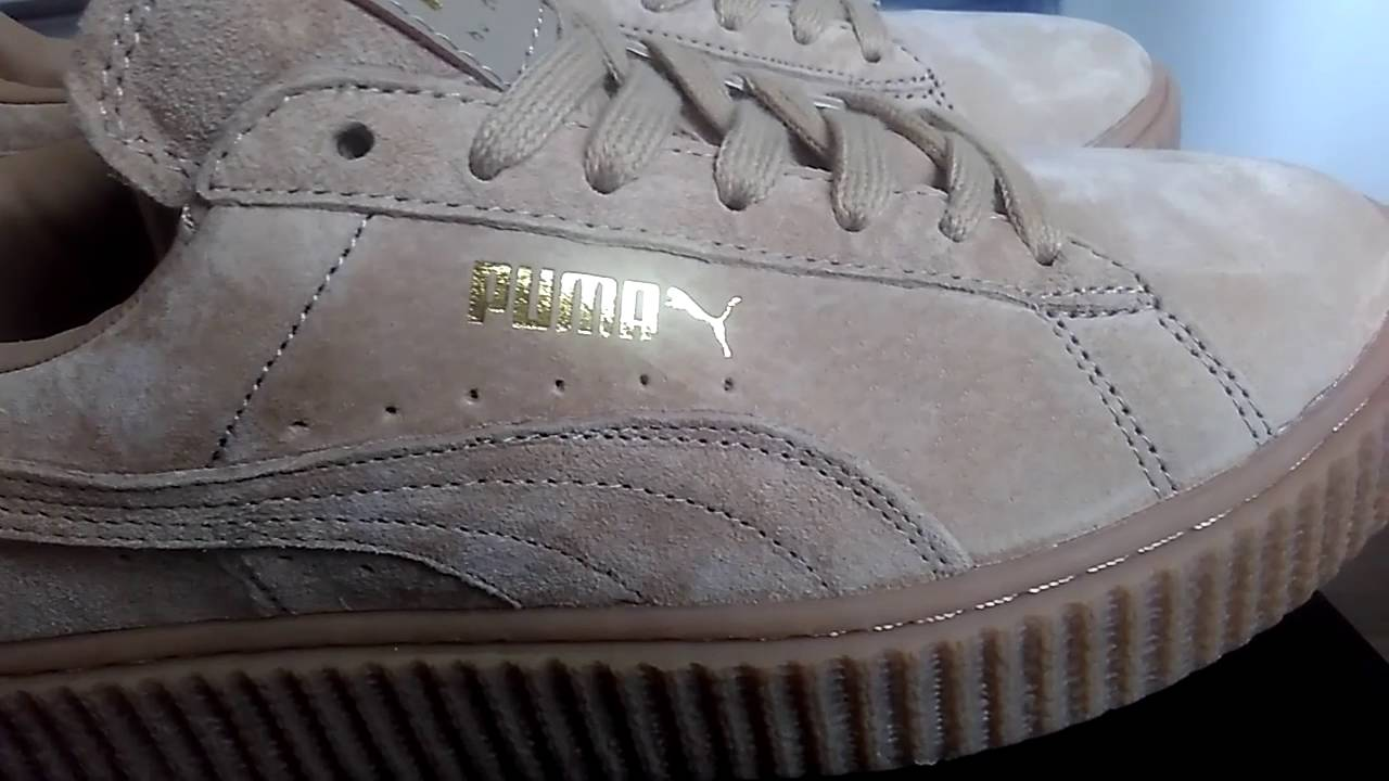 Close look :puma Suede Creepers Fenty ,PUMA by Rihanna Suede Creepers aliexpress dhgate