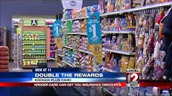 Kroger Plus Card can get people insurance discounts