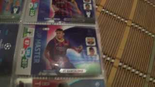 Moje karty Champions League 2013/2014 (aktualizacja #2)