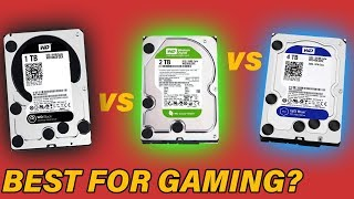 Best WD Drives for Gaming? Black vs Blue vs Green