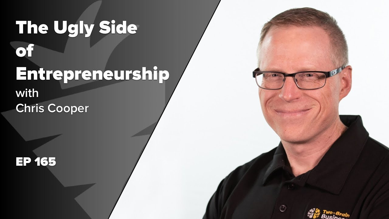 EP 165: The Ugly Side of Entrepreneurship w/ Chris Cooper, author of Founder, Farmer, Tinker, Thief