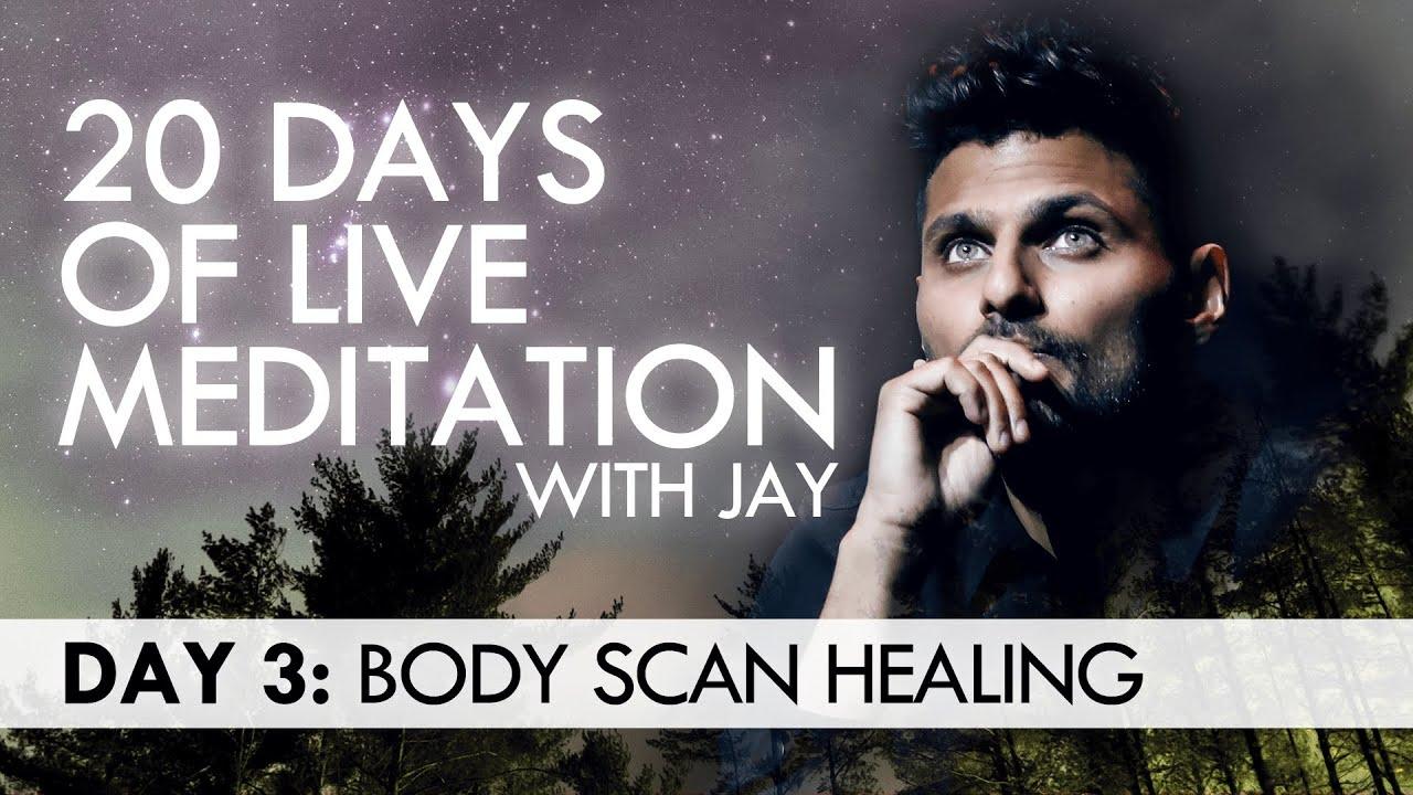 20 Days of Live Meditation with Jay Shetty: Day 3 - YouTube