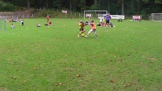 Dziewiąty dzień-obóz piłkarski-Ks Talent Bolesławiec 13 sierpień -popołudniu u żaków