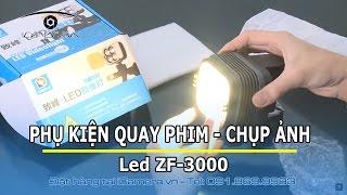 Địa chỉ shop mua đồ phụ kiện quay phim đèn Led ZF-3000 gắn máy