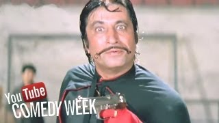 Best comedy scenes of Paresh Rawal and Shakti Kapoor, Andaz Apna Apna - Scene 22/23 - Comedy Week