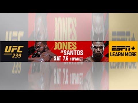 UFC 239 video: Dan Hardy, John Gooden break down Jon Jones vs. Thiago Santos| #MMA #UFC