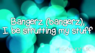Miley Cyrus - SMS (Bangerz) Ft. Britney Spears (Lyrics Video + Download Link) HD