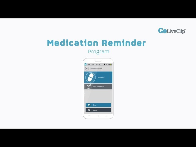 GoLivePhone Medication Reminder Program