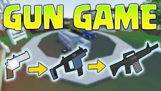 GUNGAME MODE IN UNTURNED!? ITS AWESOME!🔥 - (Call Of Duty Gamemode)