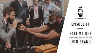 NBA Legend Karl Malone Talks Long-time Cigar Passion and New Brand   Box Press Ep. 11