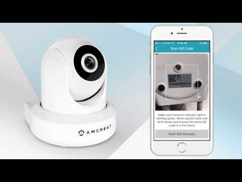 Amcrest WiFi IP Cameras - New Location Setup - YouTube