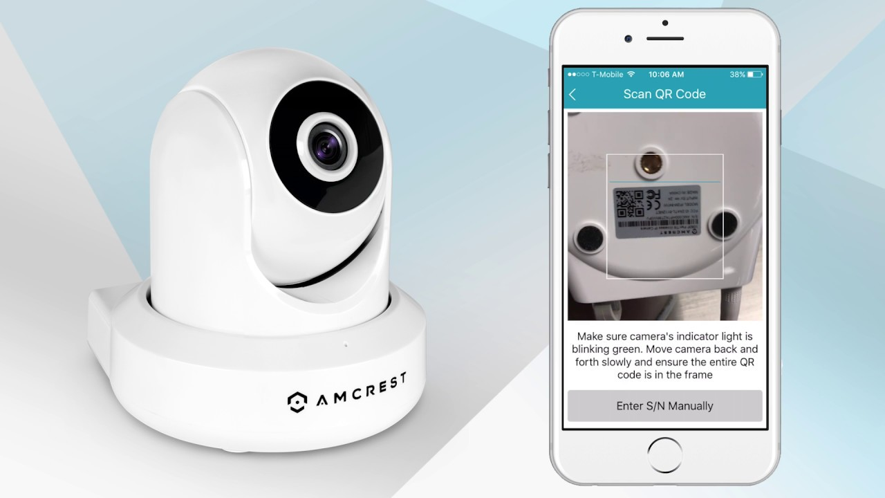 Amcrest WiFi IP Cameras - New Location Setup