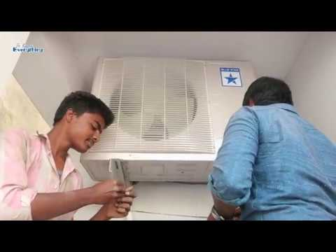How to Install a Split AC | Blue Star 1.5 Split Ac Unboxing and Setup Full Video