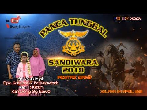 Live Streaming PANCA TUNGGAL Pentas Siang.Live Kamplong