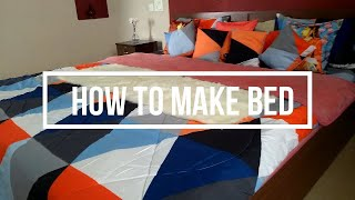 How to Make Bed / Easy way to Make Super Comfy Bed