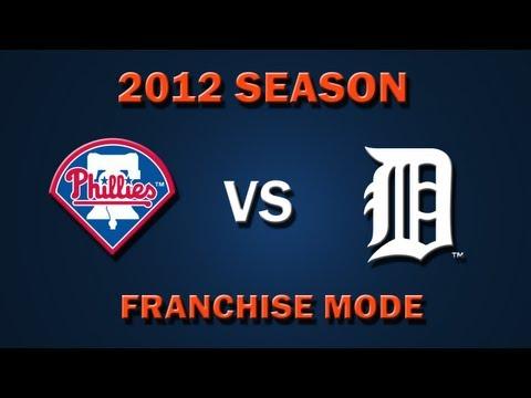 MLB 2K12: Detroit Tigers vs. Philladelphia Phillies - Franchise Mode