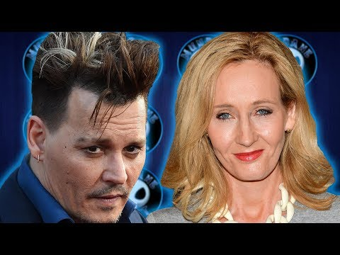 J.K. Rowling backs Johnny Depp jk rowling